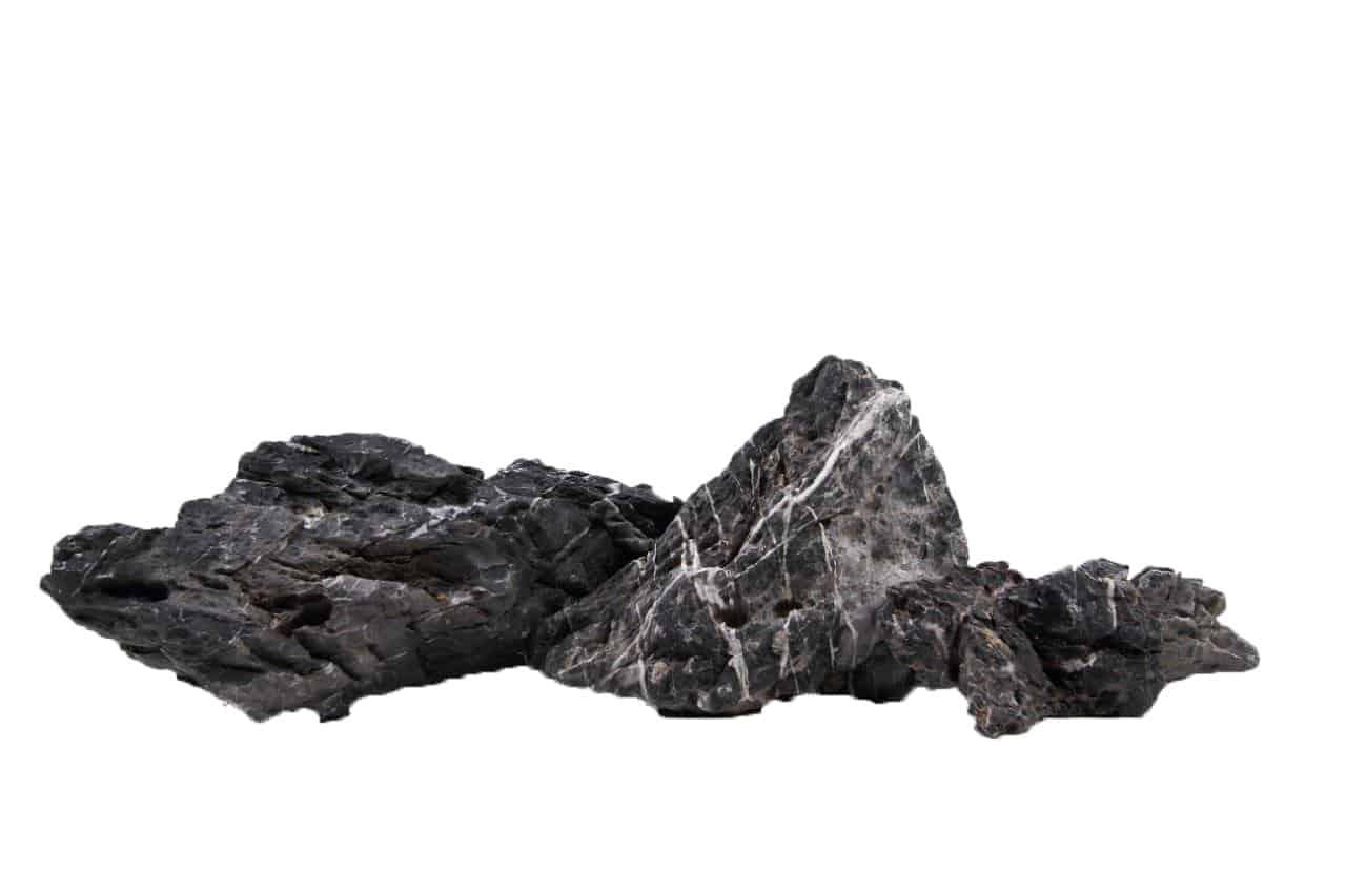 Mini-Landschaft schwarz