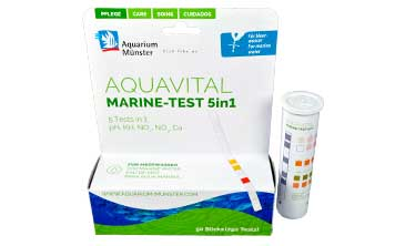 New: AQUAVITAL MARINE-TEST 5in1