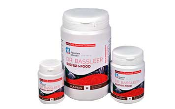 New: DR. BASSLEER BIOFISH FOOD PUMPKIN