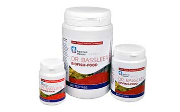 New: DR. BASSLEER BIOFISH FOOD BETTER TABS